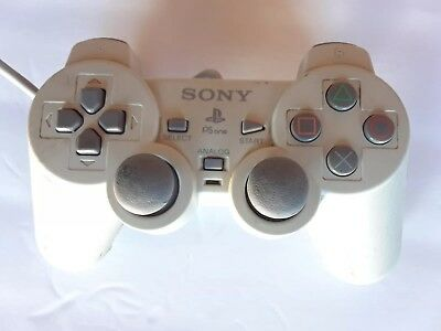 Sony PlayStation 1Controller PS1 PSOne Original Official Digital CLEANED TESTED