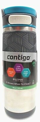 Contigo AUTOSEAL Transit Stainless Steel Travel Mug coffee mug 16 oz