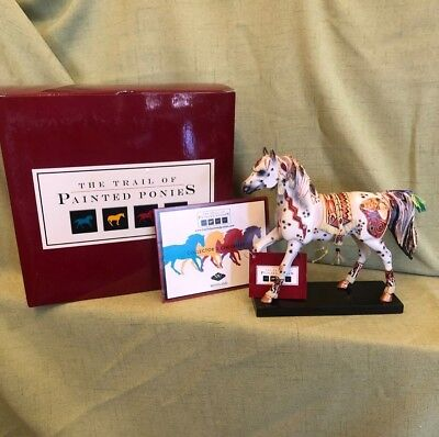 Trail of Painted Ponies, Figurine, COPPER ENCHANTMENT, 1E 1895 , Retired
