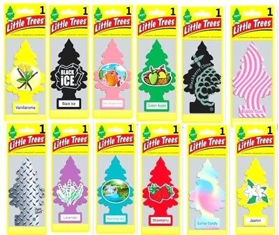 Lot Of Little Trees Assorted Hanging Air Fresheners For Auto Car Home Office Rv