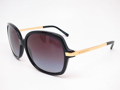 36ffdde1603 Michael Kors MK 2024 Adrianna II 316011 Black Gold with Grey Gradient  Sunglasses