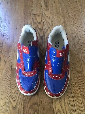 pretty nice 6552f 881e9 2006 Nike Air Force 1 Premium NBA ROYAL BLUE WHITE RED 312945-411 Size 8.5