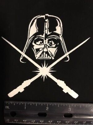 STAR WARS Darth Vader Fabric - GLOW IN THE DARK - 100% Cotton - 1/2 Yd  + BONUS