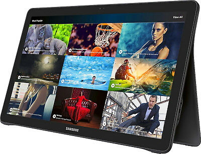 "Samsung Galaxy View 64GB 18.4"" Wi-Fi+4G LTE Unlocked Android Tablet - Black"