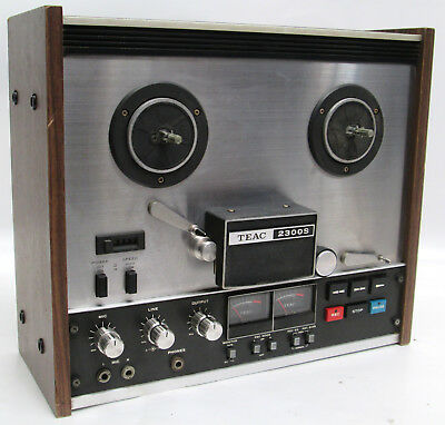 Vintage Teac 2300S Stereo Tape Deck Reel to Reel w/ Power Cord