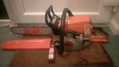 """Stihl Ms230 Chainsaw 14"""" Bar And Chain Fully Serviced In Good Order 2008"""