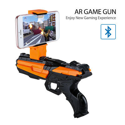 AR GUN Augmented Console Game Controller FN with Cellphone Holder Durable Gift