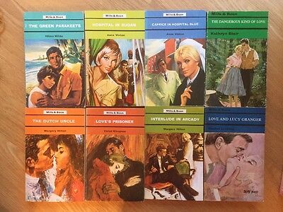 Job Lot Of 8 Mills And Boon Books Romance