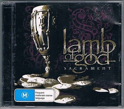 LAMB OF GOD SACRAMENT DOUBLE CD/DVD a