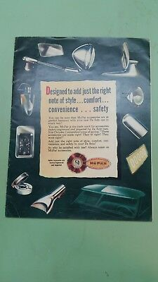 1949-1950 DeSoto Mopar accessories  brochure