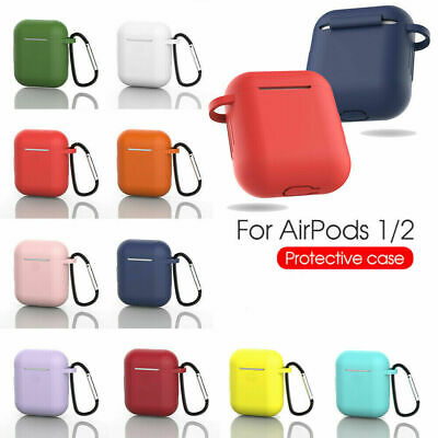 AirPods Silicone Case Cover Protective Skin Kits for Apple Airpod Charging Case