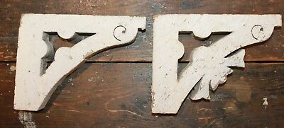 Antique Architectural Salvage Wood Corbel
