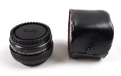 CPC 2X Tele-Converter MC C/FD Lens Japan For Canon