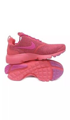 the best attitude 4de57 a2744 NIKE PRESTO FLY SE Womens Running Shoes Hot Punch Pink Size 8 910570-604 NEW
