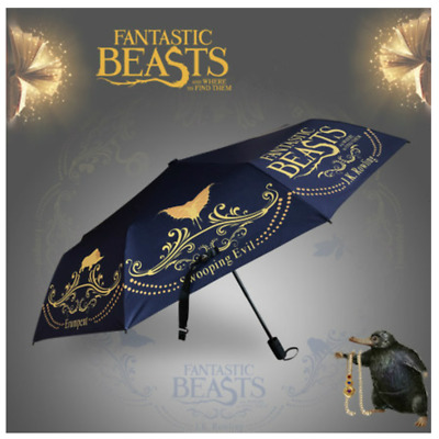 Fantastic Beasts and Where To Find Them Umbrella Winter Movie Collection New