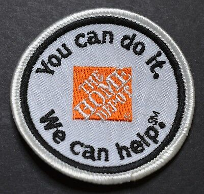 Home Depot You Can Do It We Can Help Patch