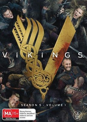 Vikings Season 5 : Part 1 DVD : NEW {Region 4 - Australian Official Release}