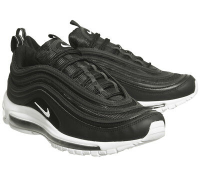 Nike Air Max 97 Trainers Black Wolf G Originali & nuove con scatolo e cartellino
