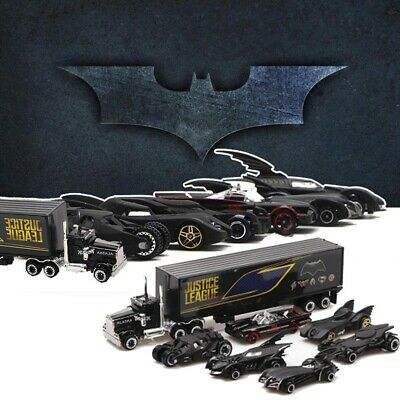 7pc Batman Hot Wheels Cars Set DC Comics Batmobile Die-Cast Cars Toys Kids Gift