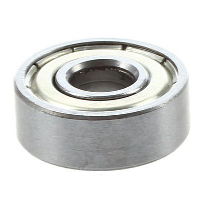 10 Pcs 17mm x 6mm x 6mm Single Row Shielded Deep Groove Ball Bearing 606ZZ V8C7