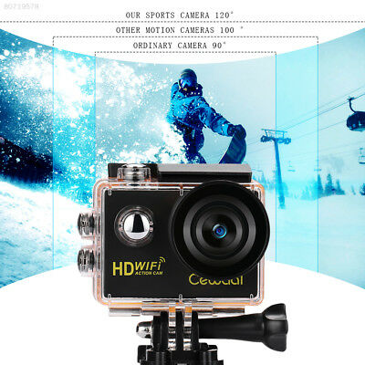 ACF1 Wifi Hiking Diving Action Camera 120 Degree 1080P Video Recorder Climbing