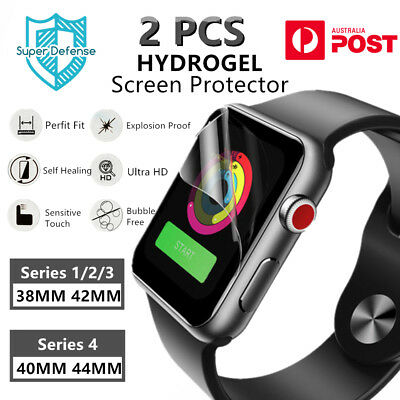 HYDROGEL Screen Protector for Apple Watch iWatch Series 1/2/3/4 38/40/42/44MM