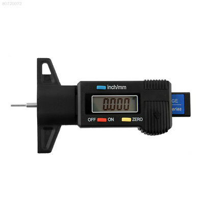 2CC4 Car Tire Tire Tyre Tread Depth Tester Gauge Monitor Bike Motorcycle Trucks