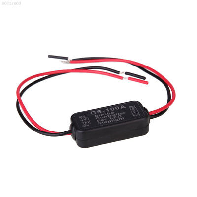 EED1 Motorcycle Car GS-100A LED Brake Stop Light Flash Controller Box 8-30V