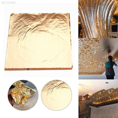 2A94 Gold Gold Foil Paper Leaf Foil Paper Hotels Wall Decor Design Frame