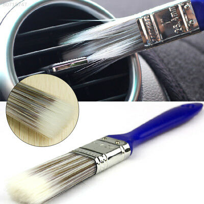 B2A5 Car Dashboard Vent Air Outlet Cleaning Cleaner Brush Dustpan Broom Set