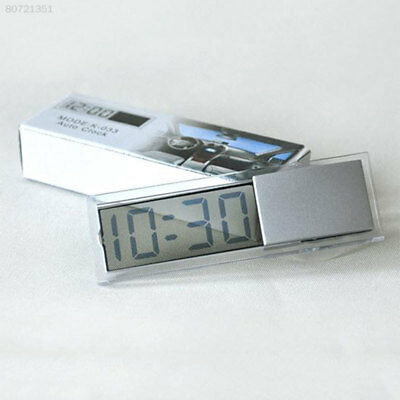 0D86 Mini Vintage Indoor Car Auto Home LCD Digital Display Room Clock Portable