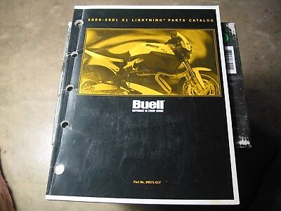 2000 & 2001  Buell X1 Lightning Parts Manual---Part Number---99571-01Y