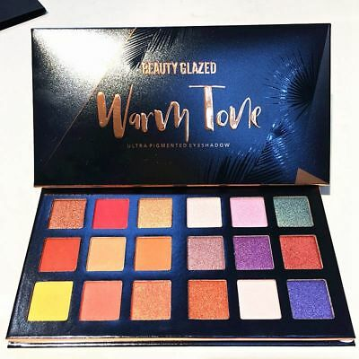 18 Colors Shimmer Matte Eyeshadow Makeup Eye Shadow Palette Glitter Cosmetic Hot