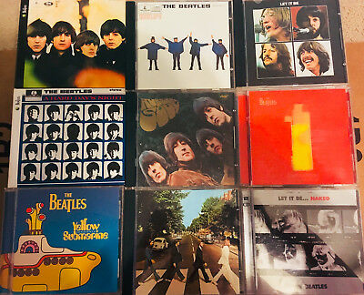 The Beatles Lot Of Nine Cds