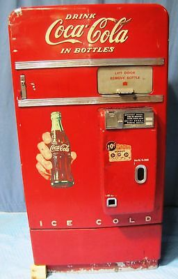 Vintage 1950s Vendo Model F83G 10 Coca-Cola (Coke) Vending Machine