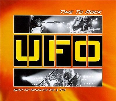 UFO - THE TIME TO ROCK: BEST OF SINGLES A'S & B'S - 2 CD - 1998 - IMPORT Like Ne