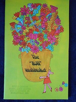 """Borax """"The Now Washbasket"""" Laundry Brochure, Speed Queen Noblesville Indiana '68"""