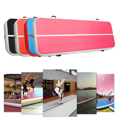 Airtrack Air Track Home Floor Inflatable Gymnastics Tumbling Mat Pad GYM