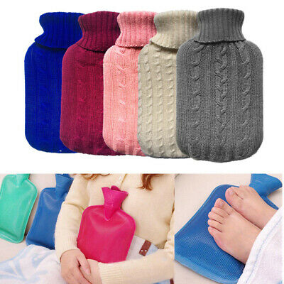 1Pcs High Grade Large Simple Cloth Bag Hot Water Bottle Cover Knitting Durable
