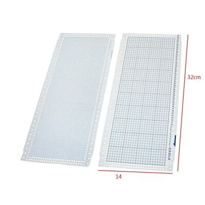 10pcs Blank Punch Card 24 Stitches for Brother Knitting Machine Singer/SReed DT