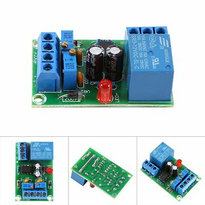 12V Battery Automatic Charging Controller Module Protection Board Relay Board US