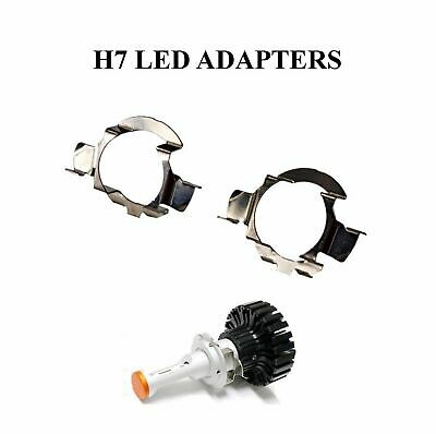 2 X H7 Led Ampoule Phare Adaptateur Support Opel Astra H J Vectra C Insignia