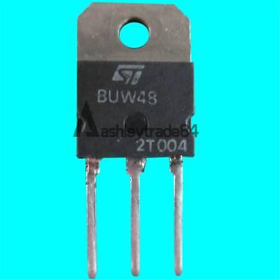 NEW 5PCS BUW48 Manu:ST Encapsulation:TO-247,High Power NPN Silicon