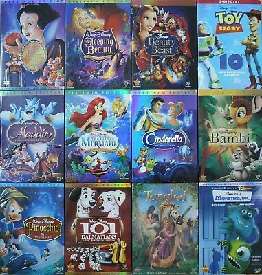 Lot of 6 Disney DVDs: Pick and choose