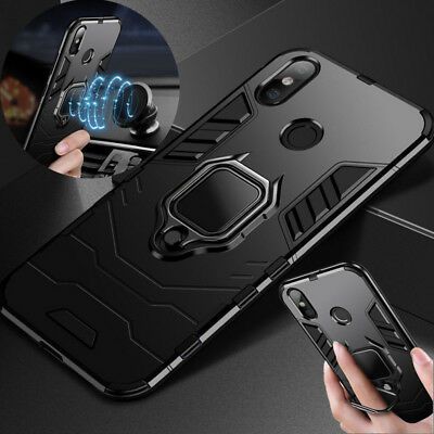 Magnetic Ring Holder Stand Hard Case Case For Xiaomi Mi A2 Max3 Redmi Note 6 Pro