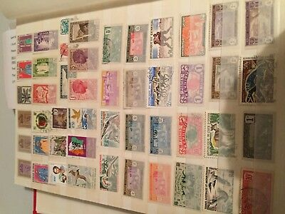 Africa Senegal Reunion and other French colonial mint/used stamps