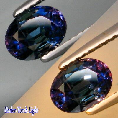 1.47Ct.Heated Only! Natural Color Change Sapphire Madagascar Good Luster