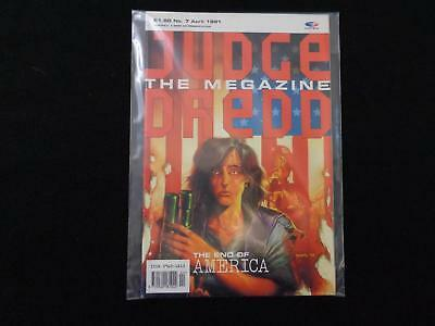 Judge Dredd Megazine volume 1 issue 7 VGC (LOT#5966)