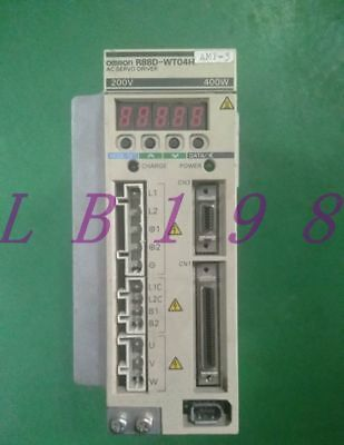 One Used Omron R88D-Wt04H