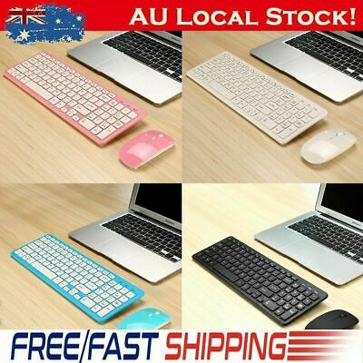 Ultra Slim Wired/Wireless 2.4G Keyboard & Mouse Mice Combo for Desktop PC Laptop